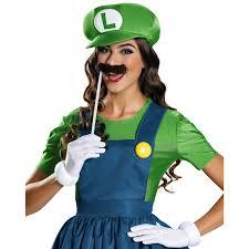 Costumes For Women Super Mario Luigi W Skirt Costume For Women Buycostumes Com
