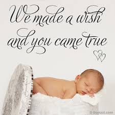 we made a wish home furniture diy ebay we made a wish and you came true wall sticker decal baby nursery kids art quote