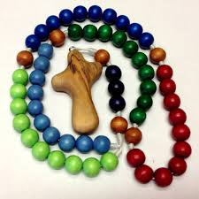 wooden rosary olive wood comfort cross boys multi color wooden rosary free