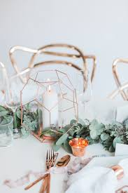 how to work copper into your wedding decor bloved blog