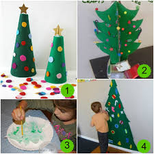 10 christmas tree activities and the weekly kids co op mess for
