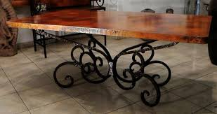 wrought iron table base for granite interior wrought iron dining table base wrought iron dining table