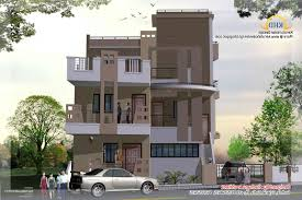 3 Storey House Plans Home Design 3 Story Beach House Plans With Pool Intended For 93