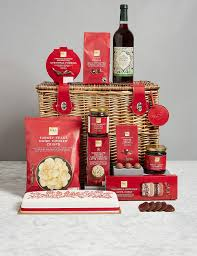 Christmas Basket Christmas Classic Hamper M U0026s