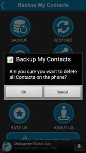 backup contacts apk backup my contacts apk free tools app for android