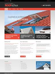 roofing company responsive drupal template 53351