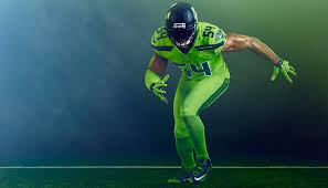 seahawks light up sign the internet destroyed the seahawks color rush uniforms last night