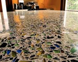 Recycled Glass Backsplash by Glass Countertops U0026 Tables