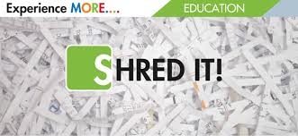 where to shred papers shred your important documents at cutx credit union of