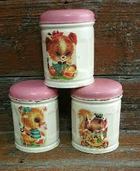 tin kitchen canisters vintage tin canister set kitchen canisters coffee canister