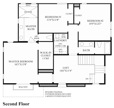 master bedroom floorplans cordova at gale ranch the miramonte home design