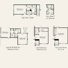 vanderbilt housing floor plans vanderbilt at millbridge in waxhaw north carolina pulte