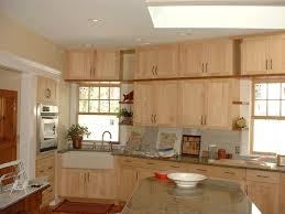 Light Maple Kitchen Cabinets Shaker Cabinet Light Maple Kitchen Cabinets With