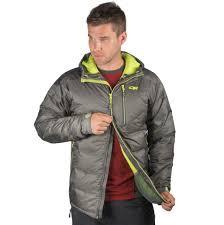 men s floodlight down jacket black outdoor research