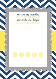 photo printable baby shower invitations image