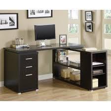 Oak Corner Computer Desk With Hutch by Furniture Modern Office Room Design With Cozy Dark Wood Corner