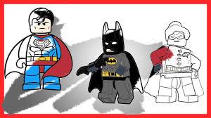 lego batman robin superman epic battle coloring