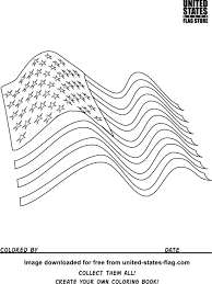 Meaning Of American Flag American Flag Coloring Pages V Book Color Blue On The Flag