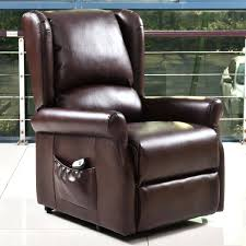 luxury leather electric rise and recline mobility lift chair