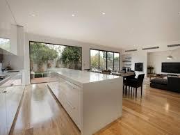 cuisine salle a manger ouverte design interieur aménagement cuisine moderne ouverte salle manger