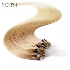 micro loop hair extensions review ombre color highlight micro loop ring hair extension 5a