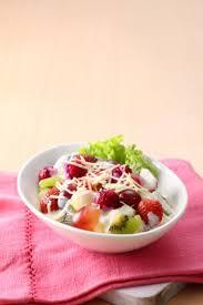 cara membuat yoghurt yang kental salad buah saus yoghurt susu sajian sedap minuman dessert