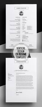 designer resume template new simple clean cv resume templates design graphic design