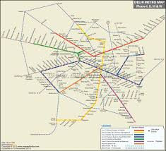 Gold Line Metro Map by Delhi Metro Phase 4 Map Railway Maps Pinterest Delhi Metro