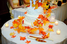 fall wedding cakes flavorful fall wedding cakes