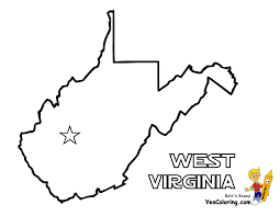 Blank Map Of Virginia by Pennsylvania State Map Coloring Page Penn State Coloring Pages