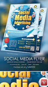 social media brochure template social media flyer design modern social media flyer magazine ads