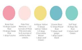color formula no 1 cake paper party