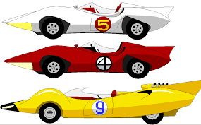 mach 4 speed racer cars and movie cars