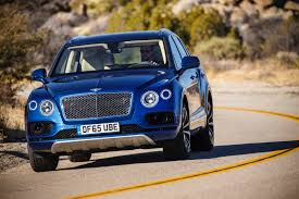 bentley blue first bentley bentayga deliveries kick off in crewe england