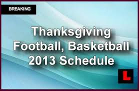 thanksgiving football tv schedule college on today