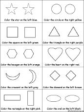 coloring and drawing worksheets shapes at enchantedlearning com