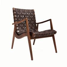 Leather Armchair Wlc 22 Woven Leather Armchair Mel Smilow Suite Ny