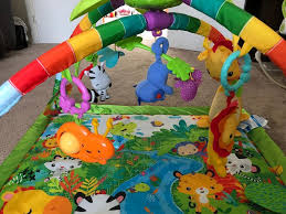 fisher price rainforest music and lights deluxe gym playset fisher price rainforest music lights deluxe gym in hedge end