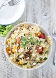 Best Pasta Salad Recipe by Mediterranean Pasta Salad The Chunky Chef