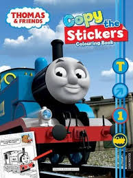 copy stickers colouring book thomas tank engine wikia
