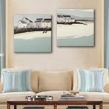 Home Decor Paintings by Online Get Cheap Coastal Oil Paintings Aliexpress Com Alibaba Group