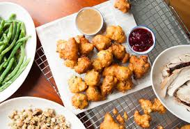 thanksgiving fritters fried thanksgiving leftovers
