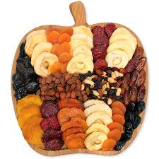 fruit and nut gift baskets dried fruit and nut platter by gourmetgiftbaskets