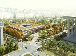h architecture national assembly smart work center and press center