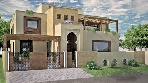 Home Design Architecture Pakistan by Adil Yusaf Associates 500 Sq Yd House Moroccon Style House Home
