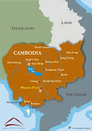 Map Of Cambodia Cambodia Overview