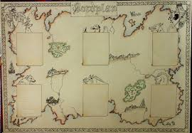 Make Your Own Map Medieval Bride Medieval Seating Chart Map