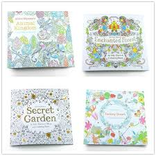 prettybaby secret garden coloring book painting drawing book 24