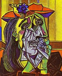 Dora Maar In An Armchair The Weeping Woman 1937 By Pablo Picasso