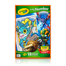 buy the crayola color by number book skylanders at michaels
